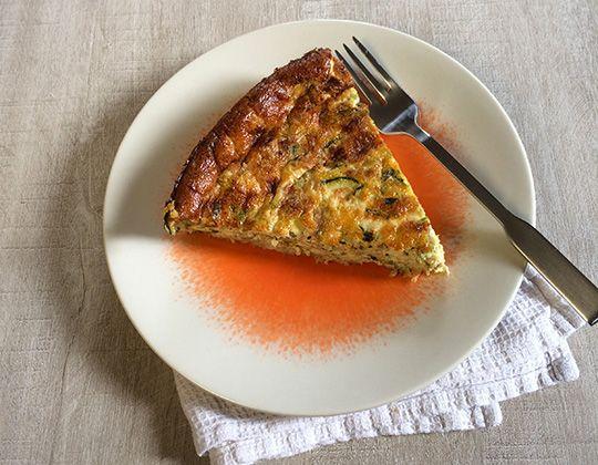 Tarte feuilletée aux courgettes et au fromage