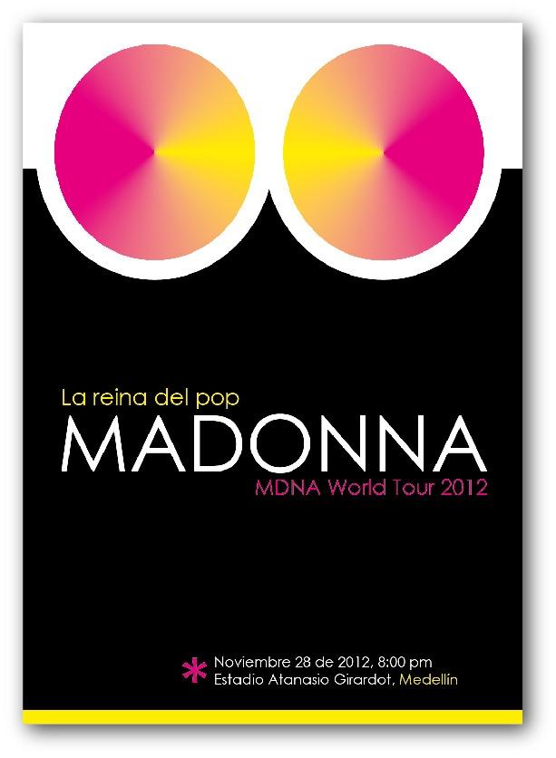 Afiche MDNA