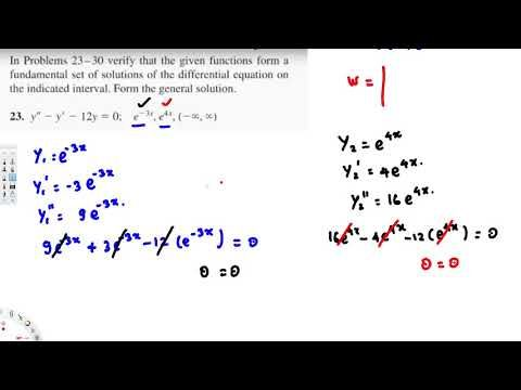 Preliminary Theory Linear Equations : Differential Equations