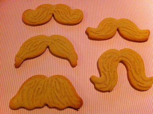 Movember cookies
