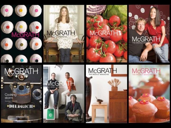 McGrath Magazine Covers