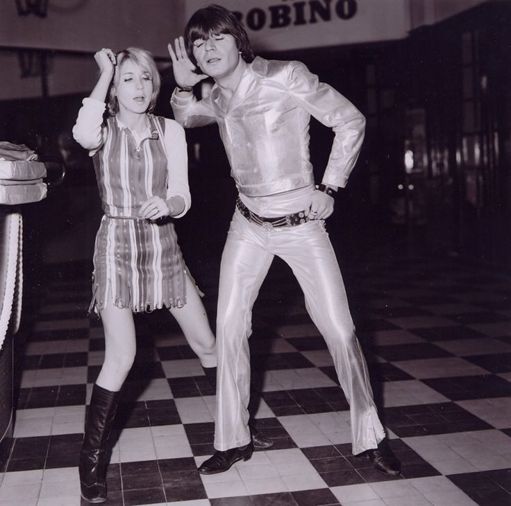 """Bulle Ogier and Jean Pierre Kalfon (in Marc O's 1968 film """"Les Idoles""""..which I would so love to find)."""