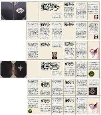 Nuestras MiniaturaS - ImprimibleS: Libros de magia