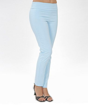 Look what I found on #zulily! Blue Skinny Pants by Bantry Bay #zulilyfinds