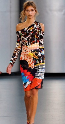 Mary Katranzou printed dress