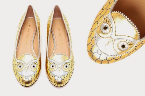Charlotte Olympia Owl Shoes