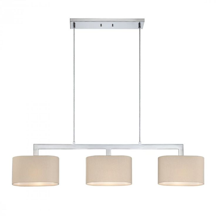 51 best pool table lights images on pinterest pool table lighting quoizel lighting 3 light islandpool table light in polished chrome finish with beige aloadofball Choice Image