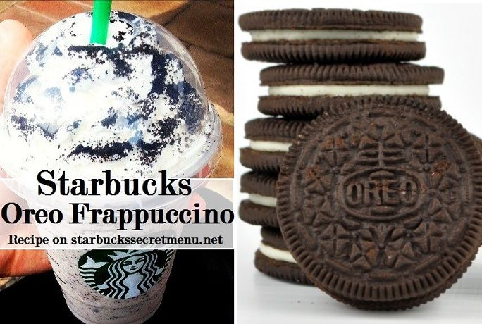Try this classic Starbucks Oreo Frappuccino! #StarbucksSecretMenu Recipe here: http://starbuckssecretmenu.net/starbucks-secret-menu-cookies-and-cream-frappuccino/