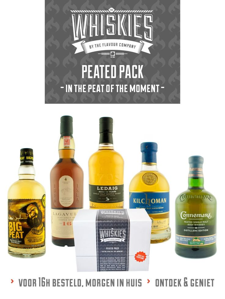 Whisky - Peated pack
