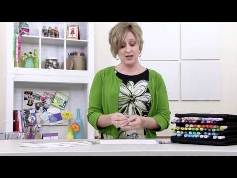 She is a certified Copic Instructor. View all of her tutorials. She is the best! How to Use Copic Markers - Basic Concepts