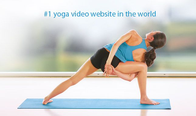 An amazing website featuring hundreds (maybe thousands) of yoga and pilates videos all at your fingertips! Love this!