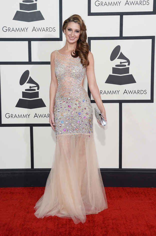 Brooklyn Haley | The GRAMMYs Red Carpet Proves Nude Is The New Black