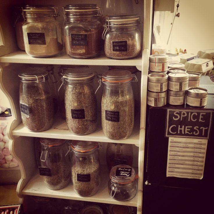 Herb Jars @ Arch House Deli, Bristol #archhousedeli #deli #clifton #herbs