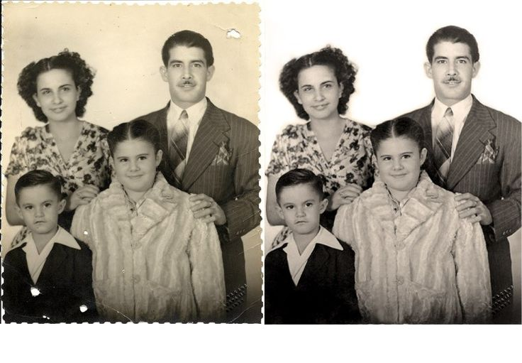 Photo repair helps bring a fresh look to your scrapbook. #photorestoration http://www.fixingphotos.com