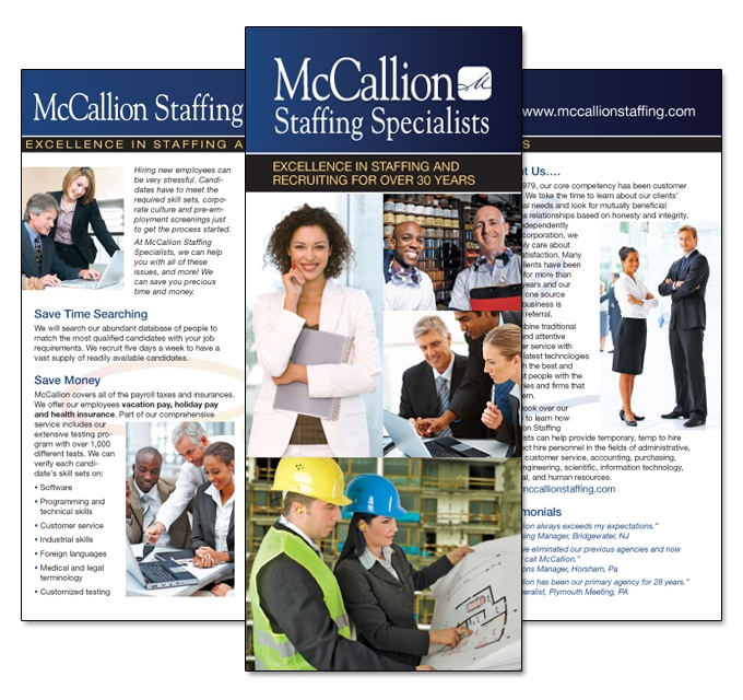 Image gallery staffing brochures for Design recruitment agencies