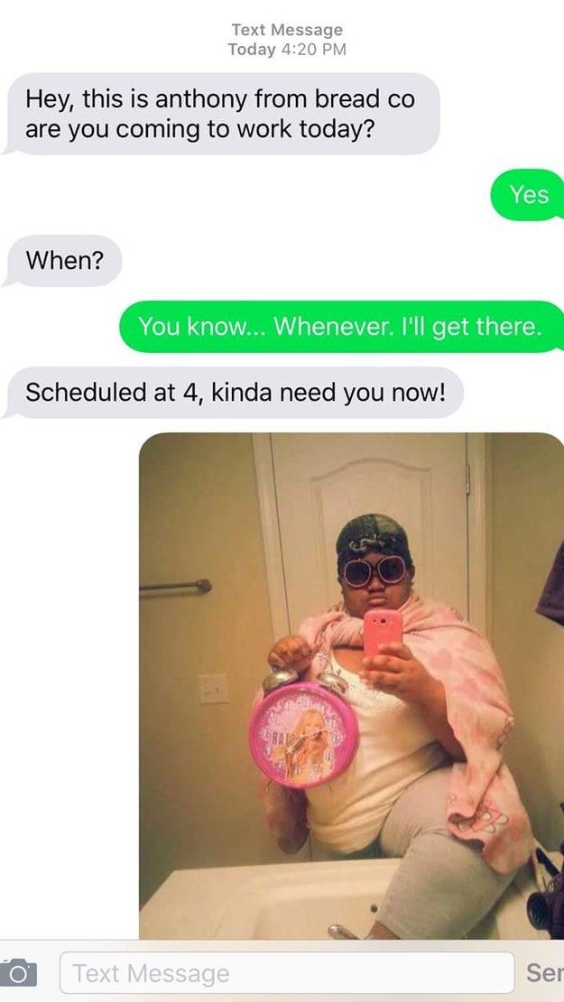 """The """"I'll Be Right There"""": 