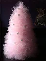 Resultado de imagen de arboles de navidad de tul