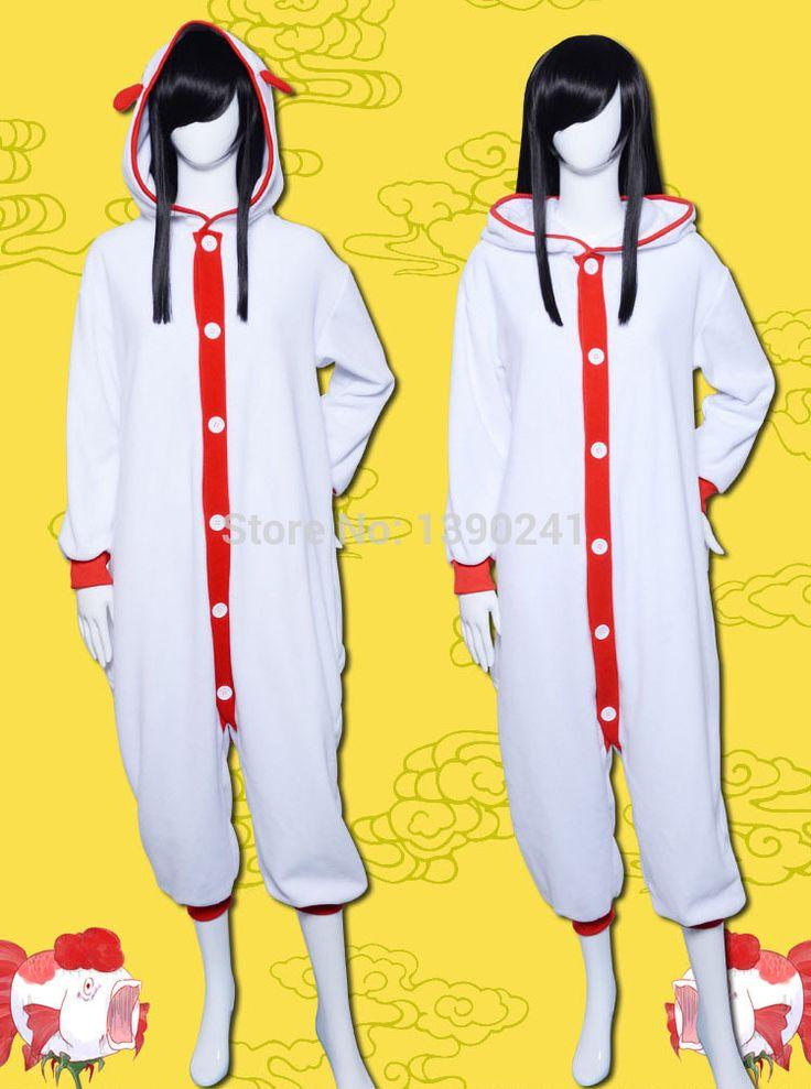 Hoozuki нет Reitetsu костюм японский аниме львиный зев мажус косплей животных pajams впечатление пижамы для мужчин и женщин