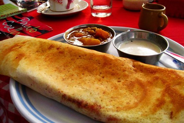 The best Indian Food : Masala Dosa