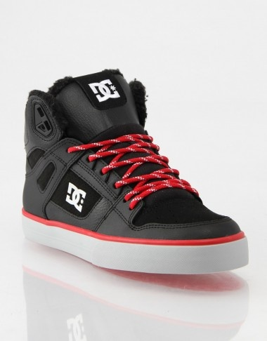 Dc Shoes Original Mens Black Black Red Red Spartan Wc Wr Trainers Entirely