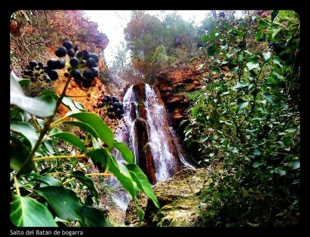 Espectacular foto del salto de agua del batan de #bogarra, en #Albacete bonita ruta de #senderismo #hiking #running
