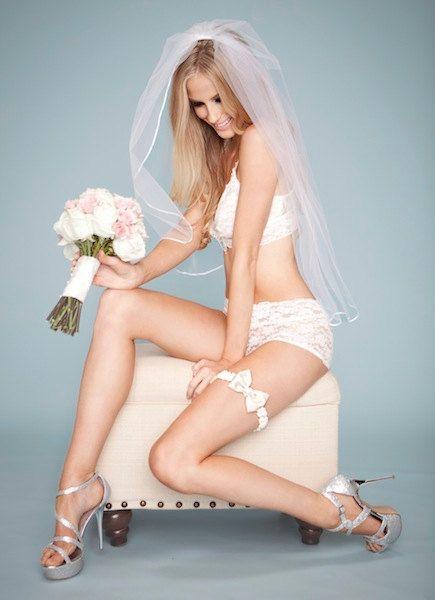 Wedding Garter Ivory Pink Rhinestone Bow Tie by LaGartierGarters, $65.00