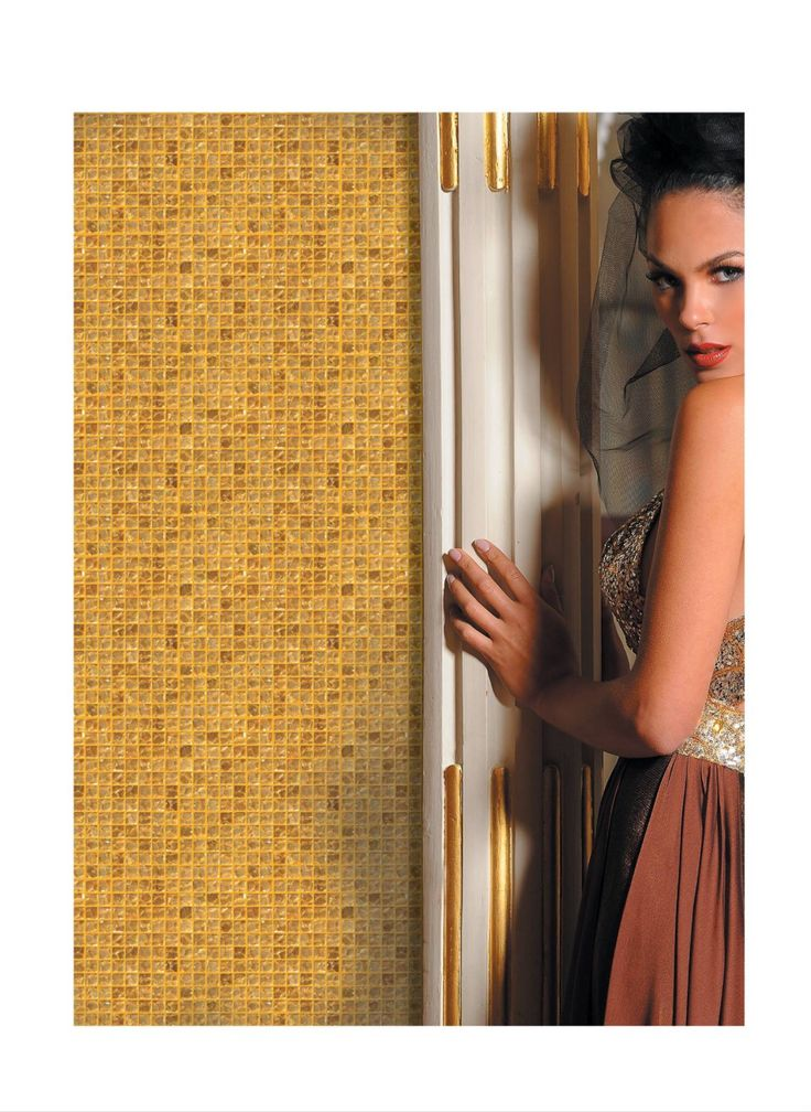 Gold Mosaic 100% Hand Made  22 K www.biondi.com İs