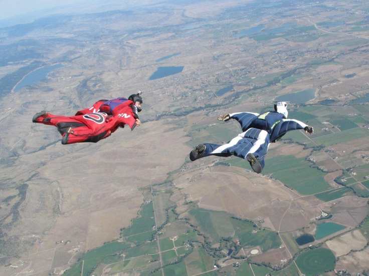 Skydiving.... a must!
