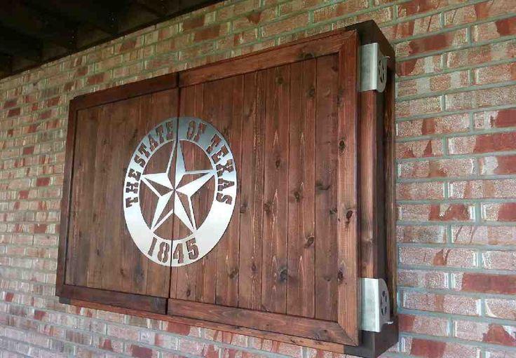 Outdoor TV Cabinet Plans