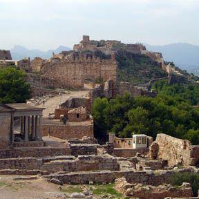 (Ruinas Romanas de Sagunto) Valencia