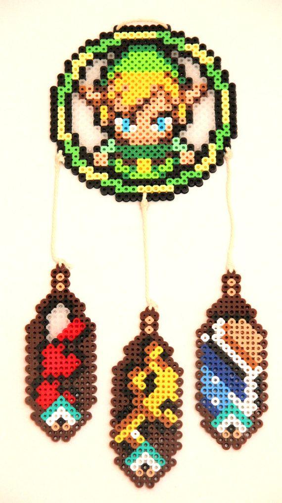 Zelda Dream Catcher Perler Beads by ThatsTheBeadsKnees