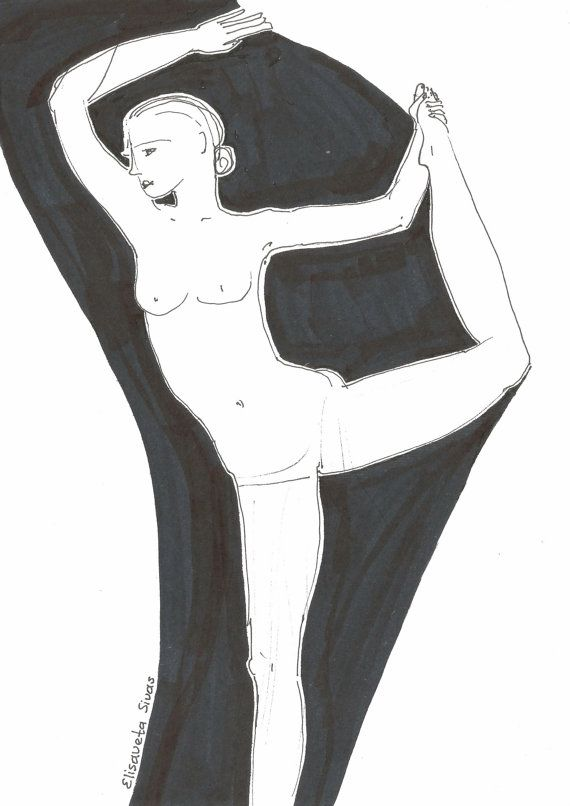 Line Art Yoga : Best images about yoga line drawings on pinterest