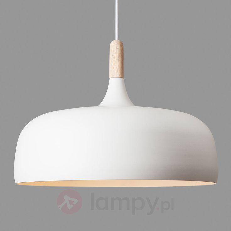 ACORN – lampa wisząca z aluminium, biała bezpieczne & wygodne zakupy w sklepie internetowym Lampy.pl.