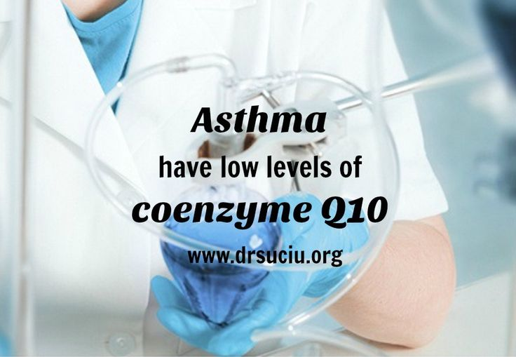 Picture drsuciu Asthma  have low levels of  coenzyme Q10