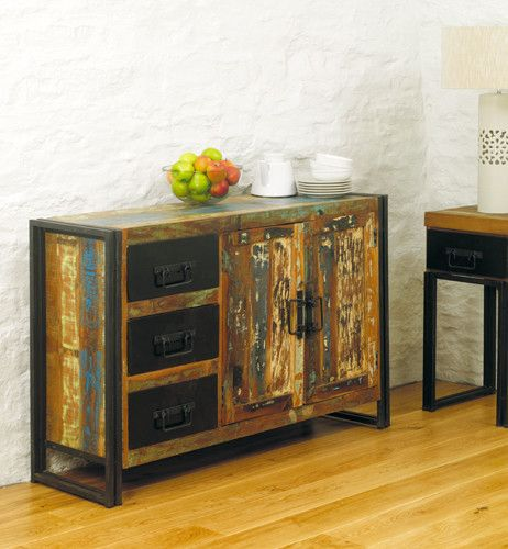 Beautiful Reclaimed Urban Chic Sideboard - Shop Now. – Chattels