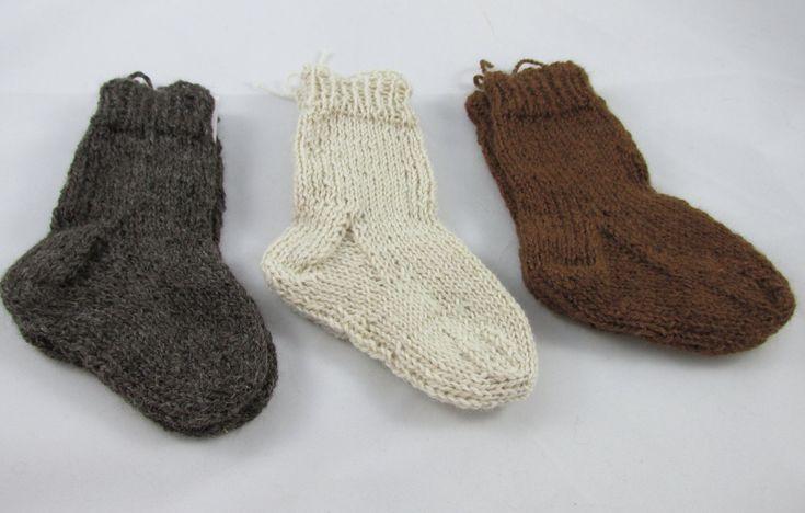 Alpaca Baby Socks - pinned by pin4etsy.com