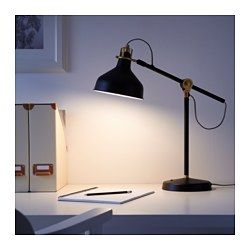 IKEA - RANARP, Work lamp with LED bulb, You can easily direct the light where you want it because the lamp arm and head are adjustable.Provides a directed light that is great for reading.