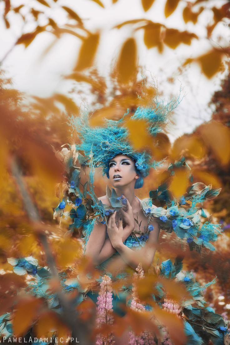 Model: Milena Corleone https://www.facebook.com/milena.corleone.studio Photographer, Make Up Artist, Designer: Paweł TOTORO Adamiec  #model #blue #flowers #photoshoot #costume #design #designer #movie #characterization #photography #costumedesign #fashion #milenacorleone #art #print #french #leflotteur #flotteur #beauty #commercial #look #topmodel #artphotography #artvision #concept #opheliaoverdose #costumemaker #performance #show