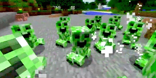Minecraft Baby Creeper | minecraft # creepers # boom
