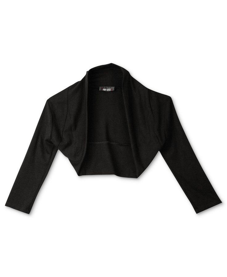 BCX Kids Sweater, Girls Shrug - Kids Girls 7-16 - Macy's