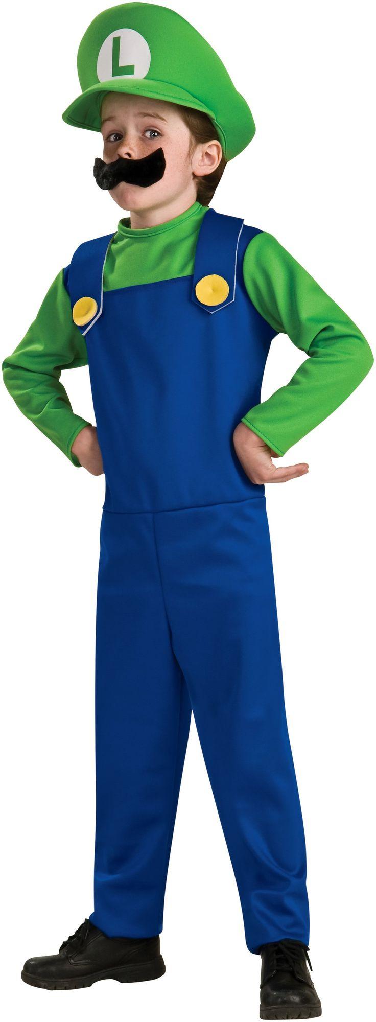 Super Mario Bros. - Luigi Toddler/Child Costume