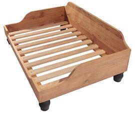 Berkeley wooden dog bed frame