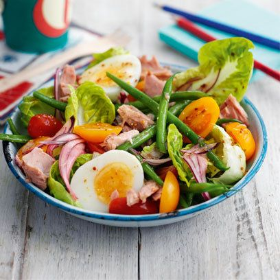 Tuna nicoise salad recipe. For the full recipe and more like this, click the picture or visit RedOnline.co.uk