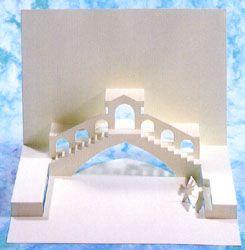 Ponte di Rialto Pop-Up Card, Evermore Design
