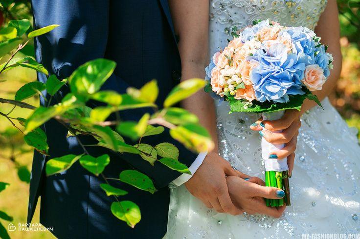 букет невесты - свадебное платье - красивая свадьба - прекрасная невеста - свадьба своими силами