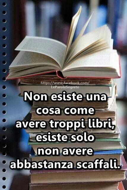 Poco spazio tanti libri