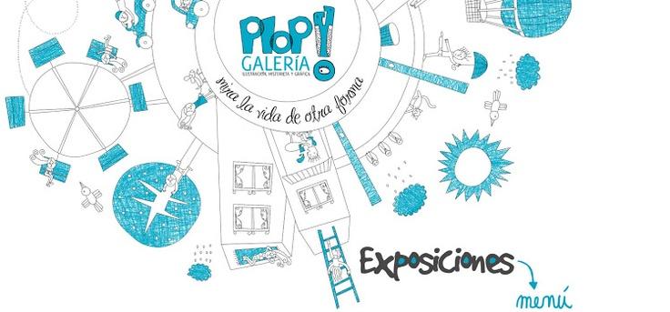 Exposiciones PLOP! Galería