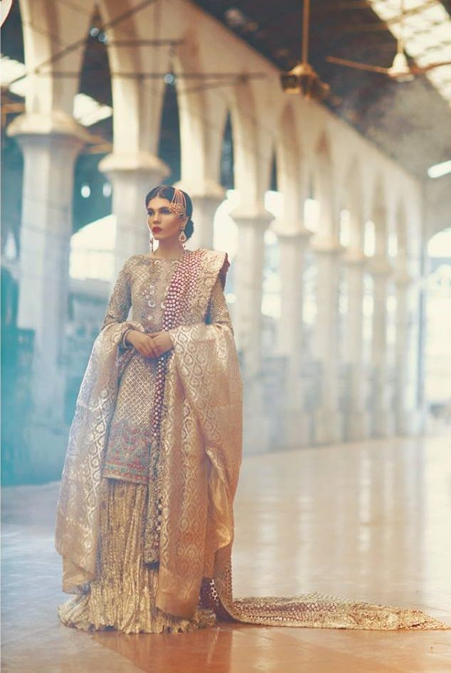 Pakistan Fashion : Rahgeer   Bridals by Zara.