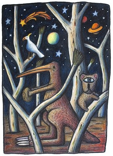Stars and Gums by Reg Mombassa