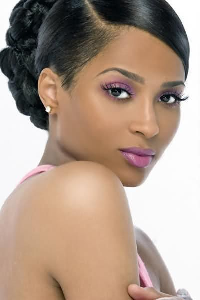 Terrific 1000 Images About African American Wedding Hairstyles On Short Hairstyles Gunalazisus